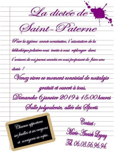 La Dictée de Saint-Paterne