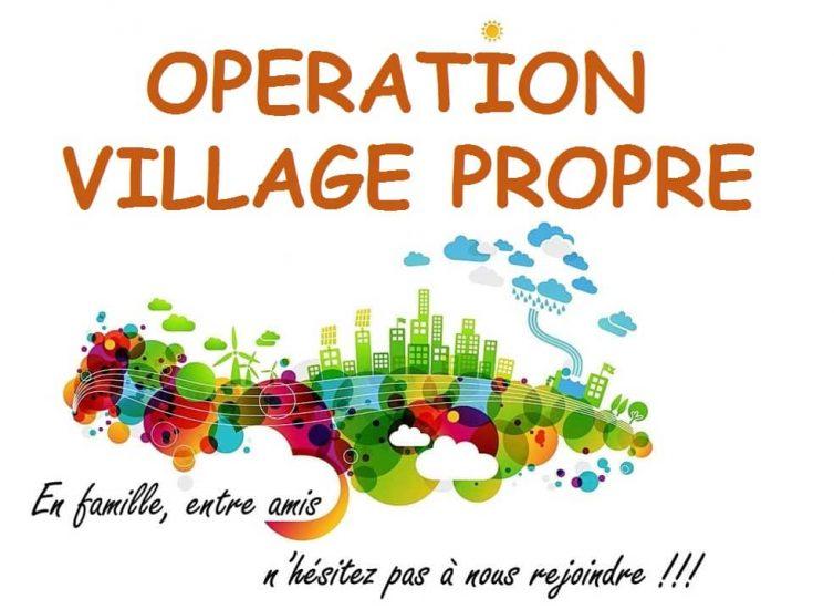 Opération village propre du quartier chevinois