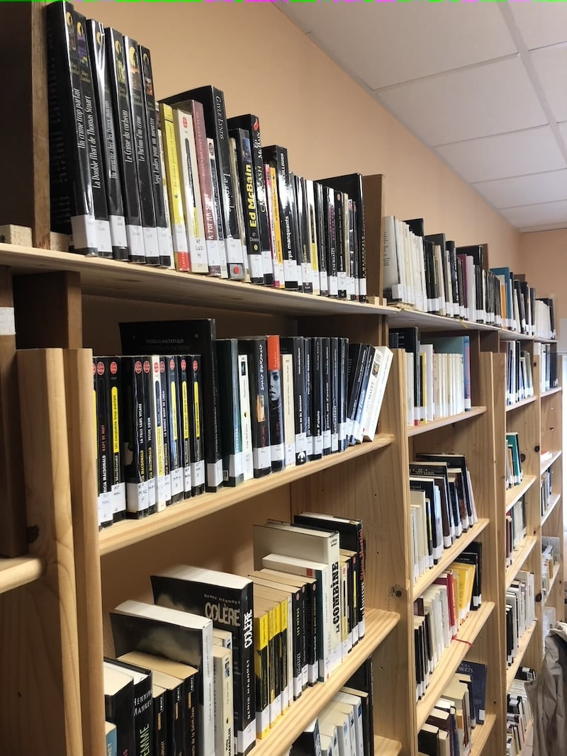 La bibliothèque policière est ouverte